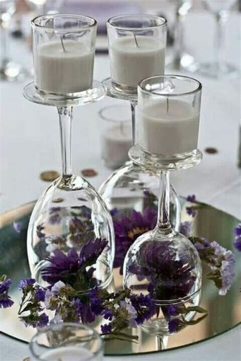 Wine Glass Table Decoration by Table Decor With Wine Glass For The Home