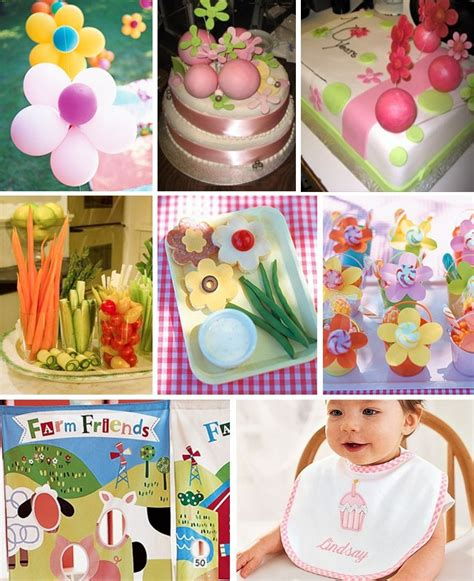 themes first birthday girl baby 1st birthday party ideas