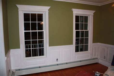 Baseboard For Wainscoting by Wainscoting Panel Beaded Raised Panel Dining Room Blauvelt
