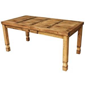 Dining Table Rustic Rustic Pine Collection Julio Dining Table Mes28
