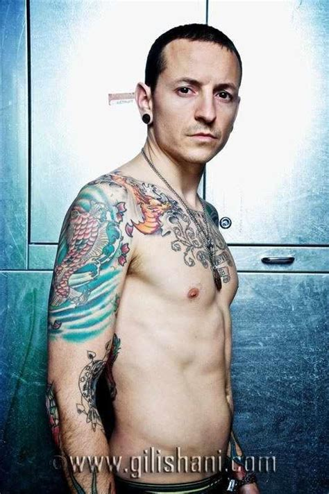 tattoo wier magazin germany 2010 chester bennington