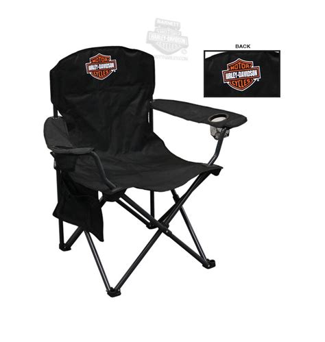 harley davidson chair ch30264 harley davidson 174 b s with drink holder xl black
