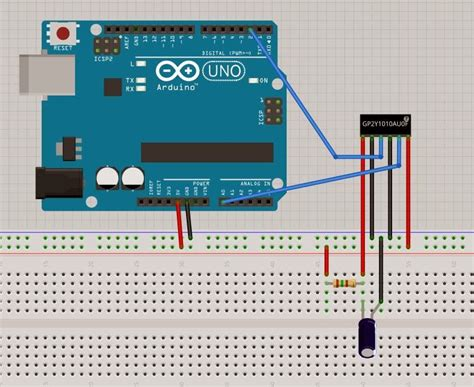 arduino resistor types pollution sensor arduino pm2 5 pm10 pollution sensor based on