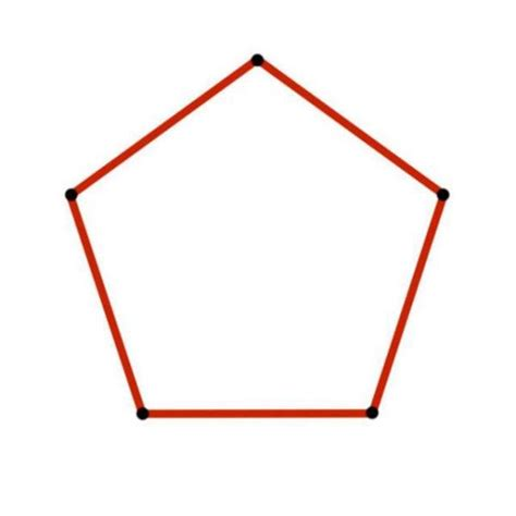 how to construct a pentagon how to draw a perfect pentagon 4 steps with images