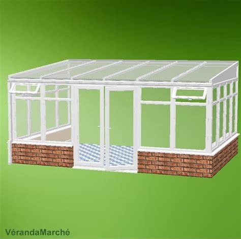 veranda kit veranda 20m2 kit ma v 233 randa