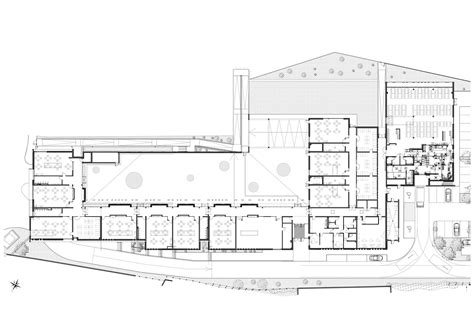 nursery school floor plan nursery school mdr archdaily