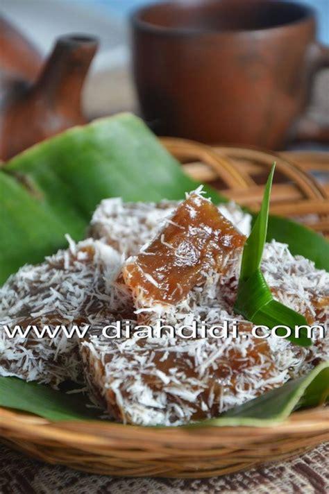 kue ongol ongol tepung garut indonesian favorit food