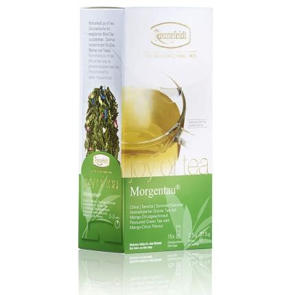 Ronnefeldt Leaf Cup Morgentau new ronnefeldt of tea morning dew tea bags also sold