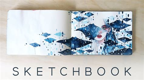 sketchbook for 2016 watercolor sketchbook