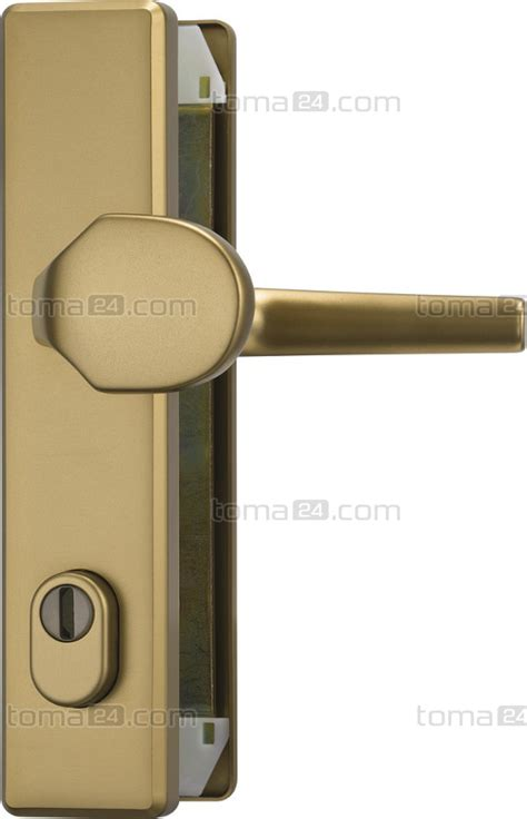 Front Door And Fitting by Exterior Door Fitting Abus Klzs 714 With A Cylinder Cover