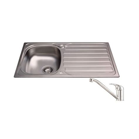 kitchen sink and tap packages cda sink and tap pack 1 size sink length 800 899mm sink
