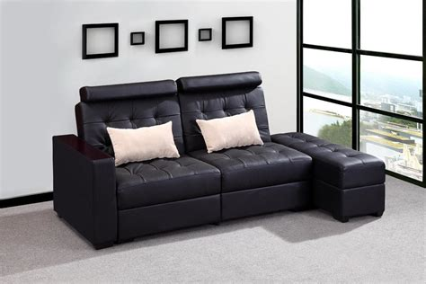 Genuine Leather Sofa Bed Double Sofa Guangdong Tianchao Sofa Co Ltd Page 1