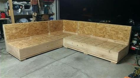 diy plywood sofa 10 beautiful diy sofa designs newnist