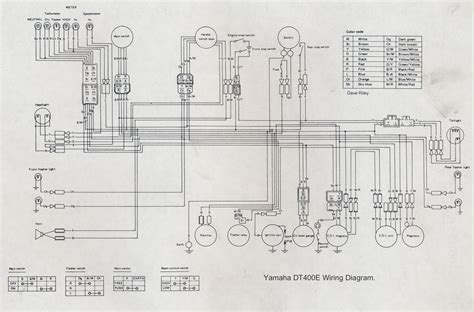 yamaha dt 175 wiring diagram 28 wiring diagram images