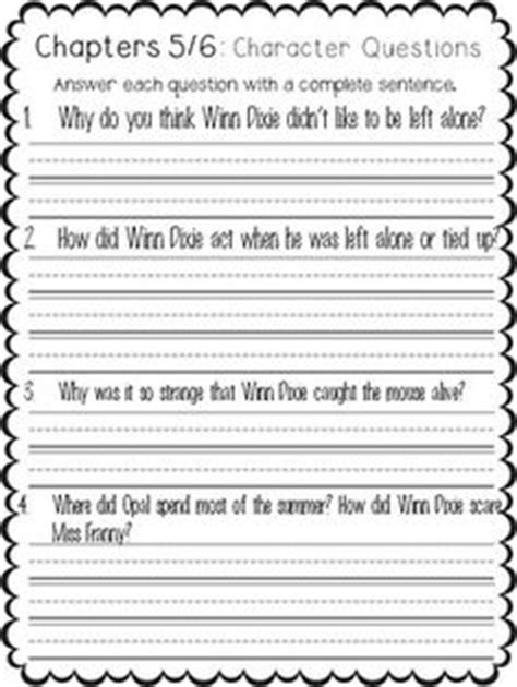 because of winn dixie book report ideas vocabulary words to discuss teach and list on your word