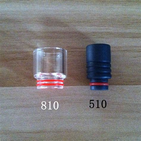 Drip Tip Mouthpiece Glass 12 5mm 810 Peerless Mage Ke Berkualitas what s the difference between 810 drip tip and 510 drip tip ecigchain store