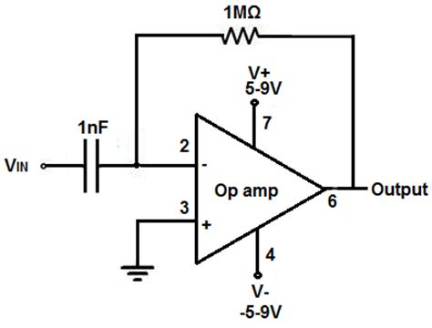 op integrator pdf capacitor resistor differentiator circuit 28 images op integrator circuit w subtitles
