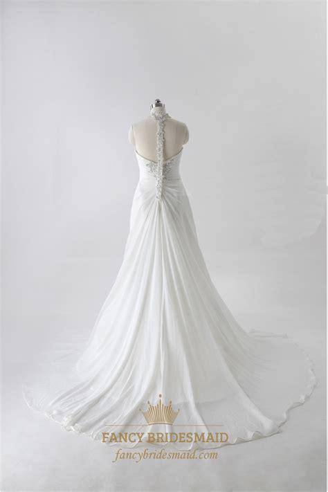 Helen Halter Neck Dress chiffon halter wedding dresses bridesmaid dresses