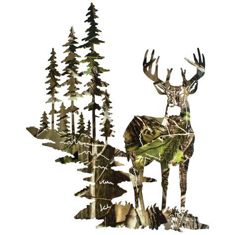 Antler Chandelier Shop Lazart 174 Whitetail Deer Wall Art Camo 207991 Wall Art