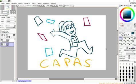 tutorial de dibujo en paint tool sai tutorial dibujo digital paint tool sai capas y