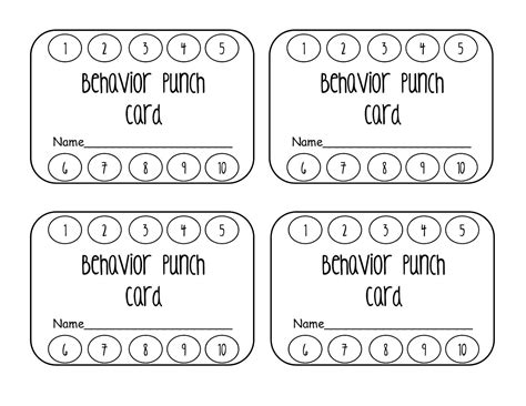 how to make punch cards punch card template bikeboulevardstucson