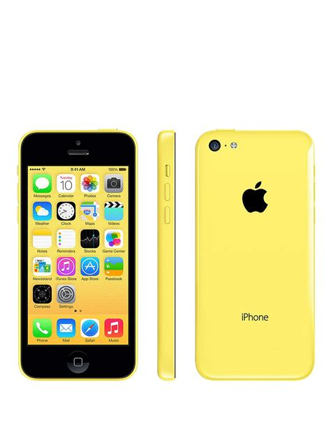iphone at t apple iphone 5c 8gb 4g lte yellow smart phone att condition used cell phones cheap at