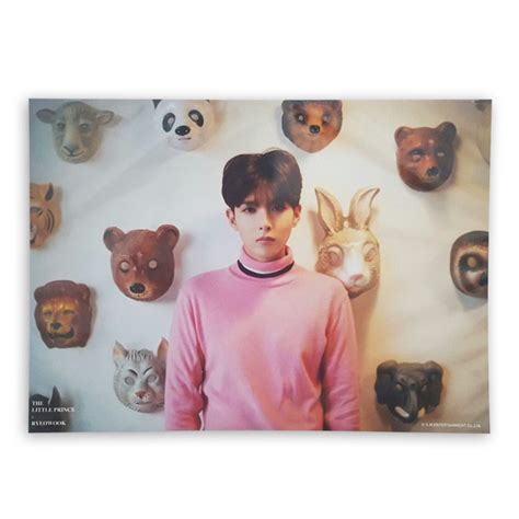 Official Photocard Ryeowook ryeowook prince a4 limited photo a