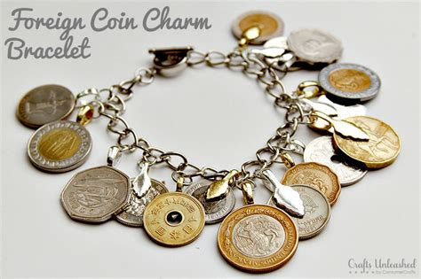 how to get into jewelry diy charm bracelet foreign coins crafts unleashed