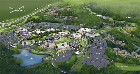 University of Southern Indiana Campus Map Resources for