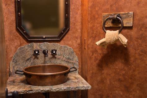 western style bathroom vanities water tower inspired home half bath vanity rustic