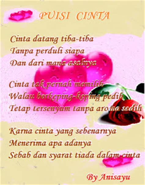 puisi cinta by anisayu review ebooks