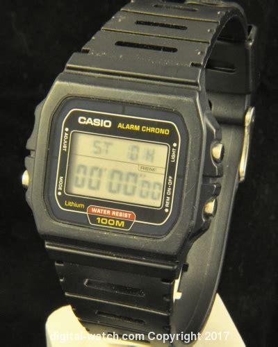 Casio W 720 Original casio w 720 w series vintage digital digital
