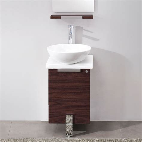 8 inch deep bathroom cabinet narrow bathroom vanities with 8 18 inches of depth