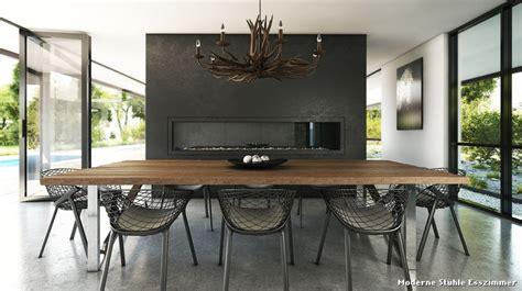stühle für esszimmer esszimmer modern dekor