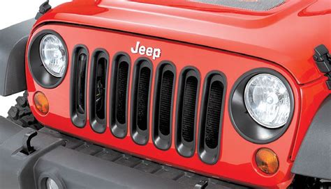 Grill Inserts For Jeep Rugged Ridge 11306 30 Rugged Ridge Grille Inserts In