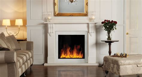 le marble camini riva2 electric inset 70 mantel gazco fires