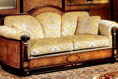 divani antichi in legno zottoz rivestimenti pareti interne