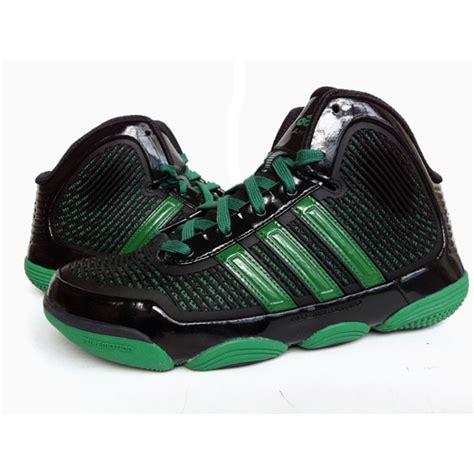green adidas basketball shoes adidas adipure basketball shoes green black ebay