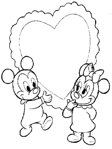 valentines day coloring pages mickey mouse coloring pages mickey mouse and minnie mouse valentine s day