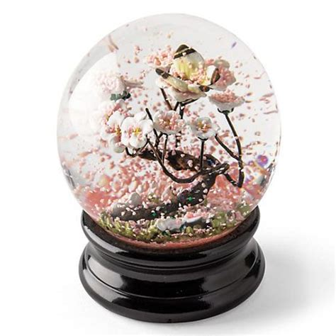 snowy blossoms holiday pick set 268 best images about snow globes on disney cinderella musical and water globes