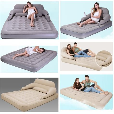temporary beds inflatable bed folded disassembly combination air cushion