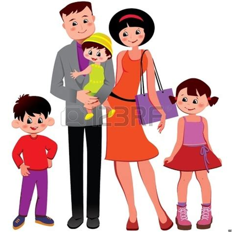 family clipart nuclear family clipart clipground