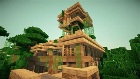 Coolest Treehouse In The World jungle treehouse by keralis minecraft project