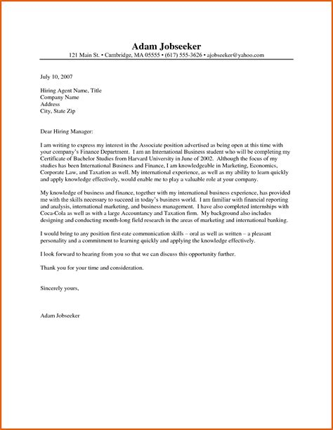 cover letter for posting exles best cover letter sles apa exles