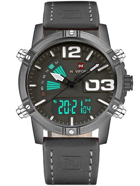 Naviforce 9095 Original 1 zegarek m苹ski naviforce 9095 5a clayer dual time alletime