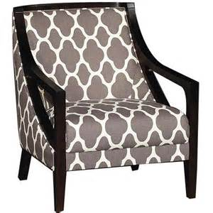 Patterned Upholstered Chairs Design Ideas Nigel 39 Quot Gray Pattern Upholstered Accent Chair