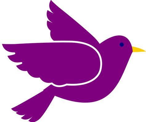 bird clipart purple bird clip at clker vector clip