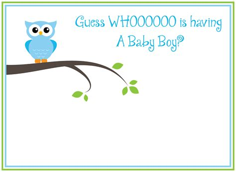 baby shower invites for boys template best template