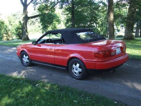 how it works cars 1995 audi cabriolet spare parts catalogs find new 1995 audi cabriolet base convertible 2 door 2 8l convertible no reserve in west chicago