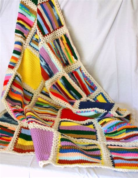 knitting patterns for scrap yarn 829 best images about scrap yarn afghans more crochet